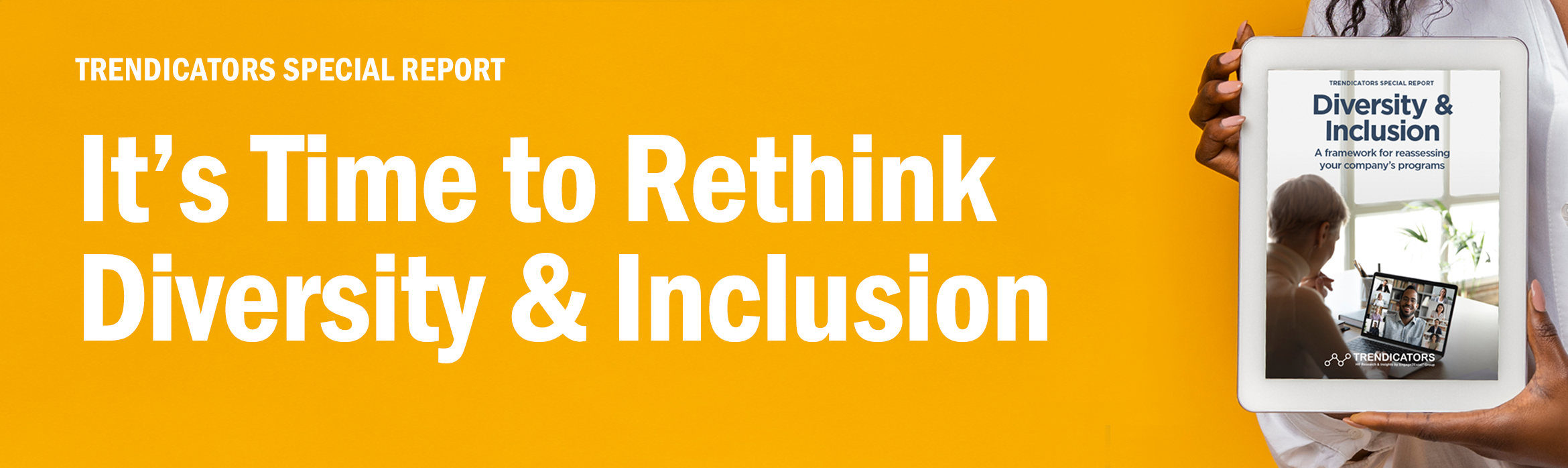 It's Time to Rethink Diversity and Inclusion