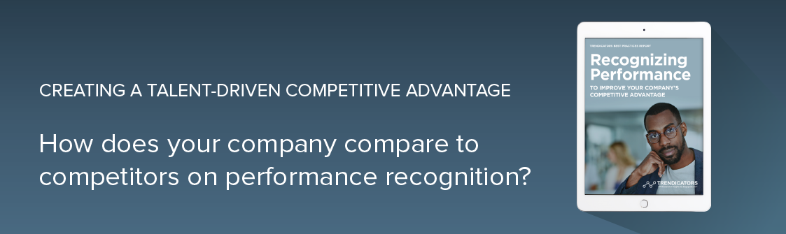 How does your company compare to competitors on performance recognition?