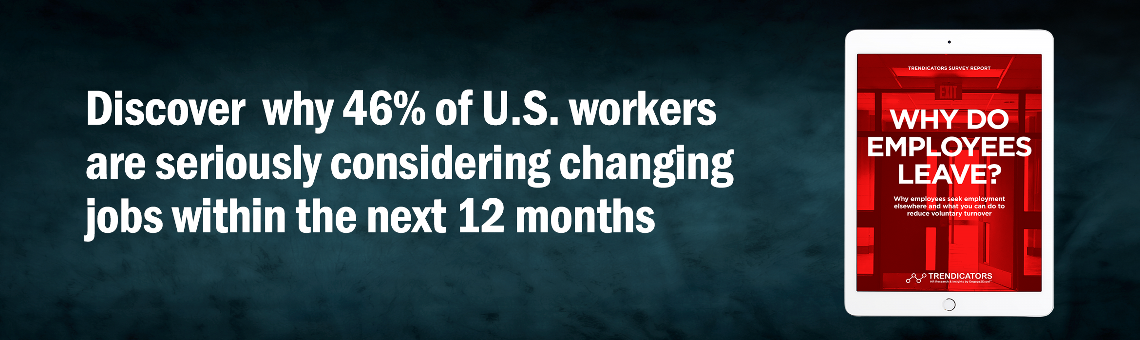 Why are 46% of U.S. workers changing jobs within the next 12 months