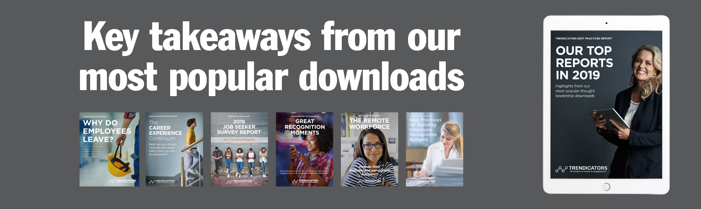 Key takeaways from our most popular downloads