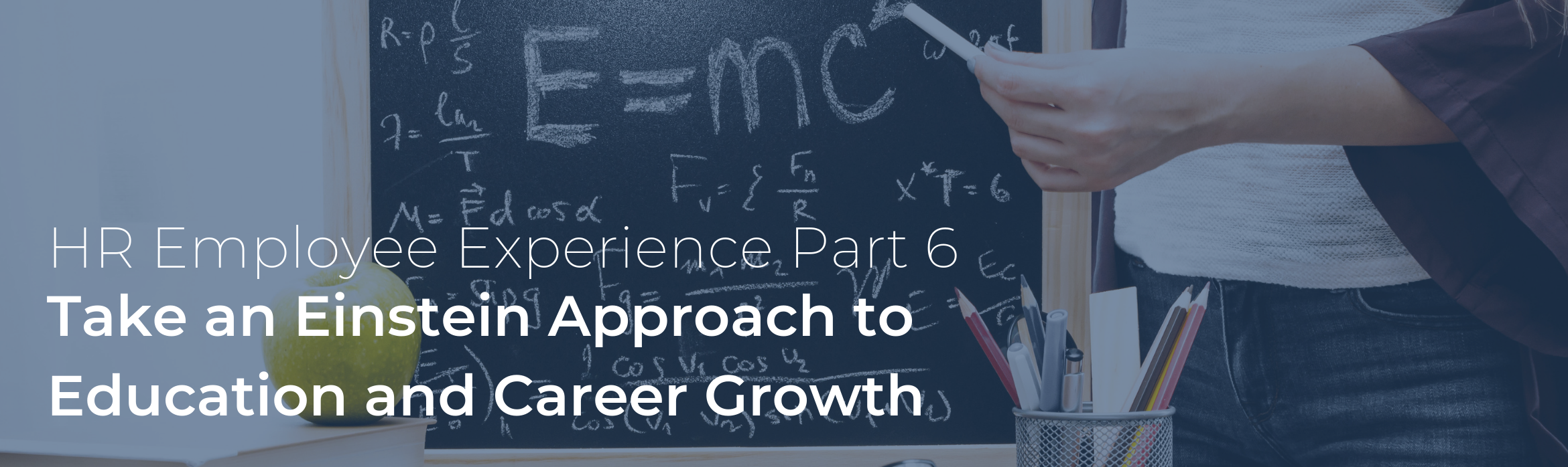 Take an Einstein Approach to Education and Career Growth